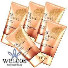 welcos no makeup face blemish balm spf30 pa whitening 50ml 5 กล อง