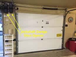 garage door shaftGarage Doors Side Mount Garage Door Openers Mounted Opener Best