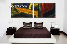 Small Picture 2 Piece Colorful Home Decor Abstract Large Pictures