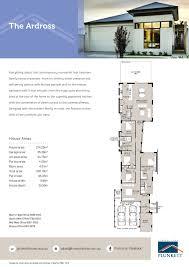 Narrow Lot House Plans   Single Storey   Narrow Lot Homes  Small    Click here to view plan