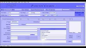 Alert Systems In Digit Chart The Digitized Patients Chart Medical Records Software