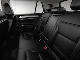 vw golf rear seat space