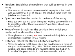 informational essay leads claims subheading outline 3