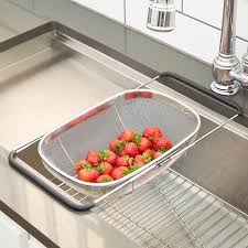 Polder Stainless Steel Mesh Sink Basket ...