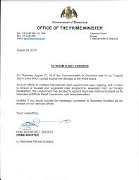Appointment Letter Dominica News Online Most Popular Cakafete