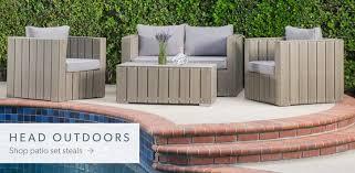Amazing of Modern Patio Furniture Modern Outdoor Furniture Decor