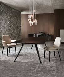 pendant lighting dining room table. Lovely Ideas For Dining Room Decoration Using Minotti Table : Fancy Pendant Lighting T