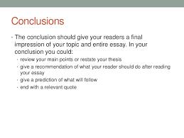 arranging an essay 7