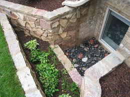 basement window well garden