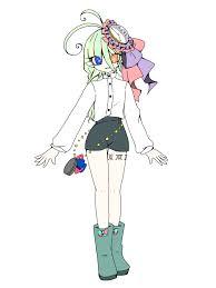 創作キャラクターの立ち絵を描きます 少年少女や人外っこの全身絵が