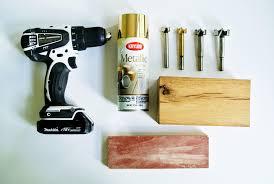 wooden block pencil holder supplies