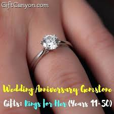 platinum gifts for her wedding anniversary gemstone rings years gift canyon 20th