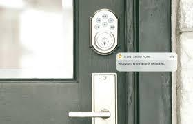smart front door locksRogers Smart Home Monitoring Door Locks Smart Front Door Locks
