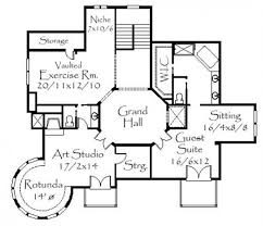 ... This image shows the guest suite and an art studio.