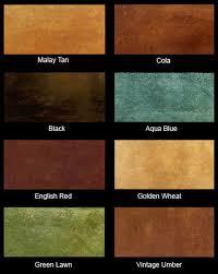 Kemiko Color Chart Neocrete Color Charts Neocrete