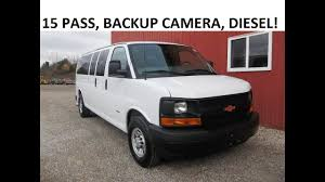 2015 Chevrolet Express 15 Pass, Backup Cam, Duramax Diesel! SK ...