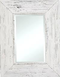 distressed wood frames wall mirror diy