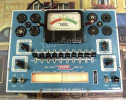 Tubesound Blog Archive Classic Emission Tube Testers