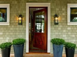 fresh open house door