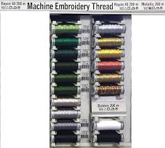 Sulky Rayon Thread Chart Gütermann Sulky Embroidery Thread Color Chart