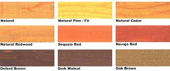 Ace Wood Royal Deck Stain Color Chart Olympic Semi Transparent Stain Colors Olympic Semi