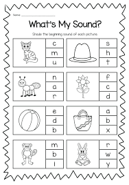 Alphabet And Sounds Worksheets Free Printable Alphabet Sounds ...