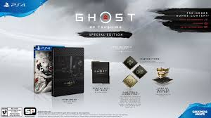 Ghost of Tsushima Special & Collector's Edition available to Pre-Order