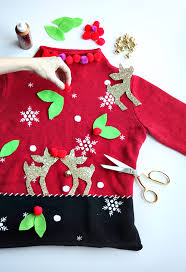 make ugly sweaters diy crafts mother daughter outfits small