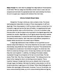 two literary analysis sample essays parcc by english in the  two literary analysis sample essays parcc 6 8