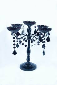 Our Centerpieces- Celebrate It Halloween Candelabra sold by Michael's  (seasonal/limited edition