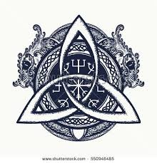 Dragons And Celtic Knot Tattoo And T Shirt Design Dragons Symbol