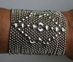 new sergio gutierrez liquid metal by sg wide silver cuff bracelet b50 metal bracelets metal