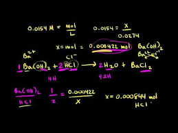Titration Formula Titration Calculation Example Video Khan Academy