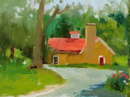 learn to paint landscapes in oil painting class at chester springs studio