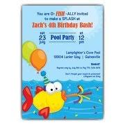 Pool Party Invitations | Paperstyle