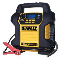 dewalt compressor. dewalt 1400 peak amp jump starter with digital compressor dewalt