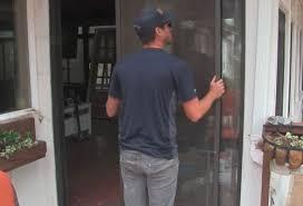 replace door glass panel
