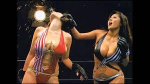 Girls fighting in bikini