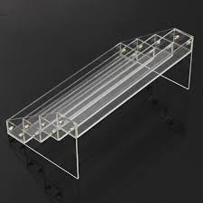 Acrylic Tiered Display Stands 100 Tiers Acrylic Nail Polish Display Stand Cosmetic Organizer 24