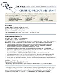 Medical Assistant Resume Template Resume Examples Medical Assistant Resume Template Free Format 2