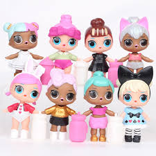 8pcs Ba Lol Doll Girl Polly Pocket Ba Toys In Action Toy Amazing