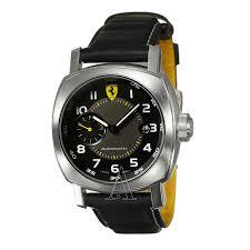 panerai ferrari scuderia chronograph fer00002 men s date watch panerai men s ferrari scuderia automatic watch