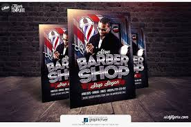 barber flyer barbershop flyer template psd barbershop flyer psd sickflyers com