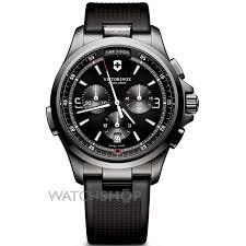 "victorinox swiss army watch shop comâ""¢ mens victorinox swiss army night vision chronograph watch 241731"
