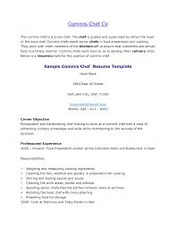 Cover Letter Resume Examples For Cooks Resume Examples For Grill