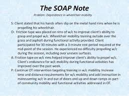 Pediatric Soap Note Template Fresh Ot Soap Notes Examples 6