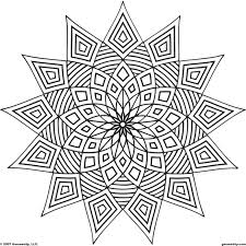 Mandalas Et Coloriages Abstraits Imprimables Pour Soulager Le Stress