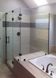 elegant frameless shower door enclosures glass shower enclosures and doors gallery shower doors of austin