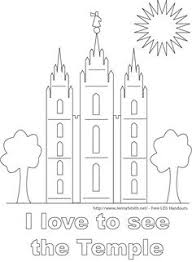 Small Picture Children visit the Temple LDS Primary coloring page Other