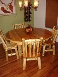 Log Dining Room Tables Dining Room Barn Wood Furniture Rustic Furniture Log